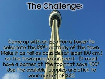 100th Day STEM Challenge