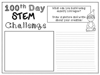 100th Day STEM Activities