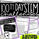 100th Day STEM Activities 8 Different Challenges for the 1