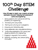 100th Day STEM Cup Challenge