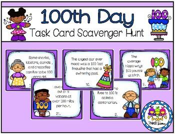 100th Day Scavenger Hunt