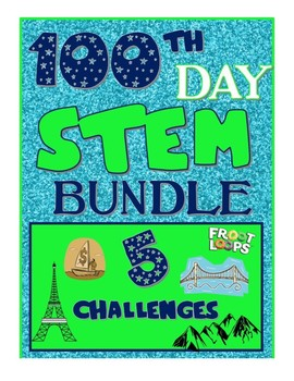 100th Day Science STEM Inquiry Challenges Experiments