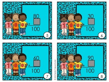 100th Day Scoot Math Game