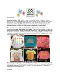 100th Day Shirt Letter
