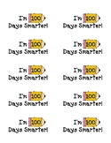 100th Day Smarter Label Stickers