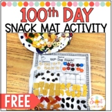 100th Day Snack Sorting Mat