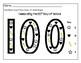 FREEBIE 100th Day Math/SHAPE COUNT