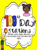 100th Day Stations!