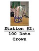 100th Day Stations Signs