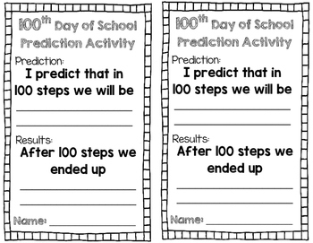 100th Day Step Prediction