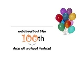 100th Day Task Cards (Upper Elementary)