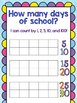 How many days of school - 100th Day Tracker with Ten Frame