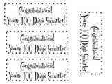 100th Day Treat Bag Labels