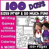 100th Day of School Activities Bundle