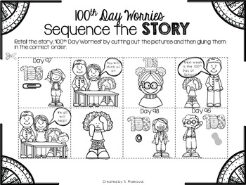 100th Day Worries Extension Activities