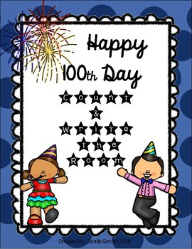 100th Day Write and Count the Room Bundle
