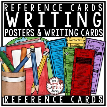 Writer's Workshop Reference -Revising and Editing, Transitions, Arms and Cups
