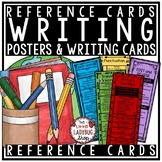 Writing Reference Cards for Revise and Edit, Transitions,