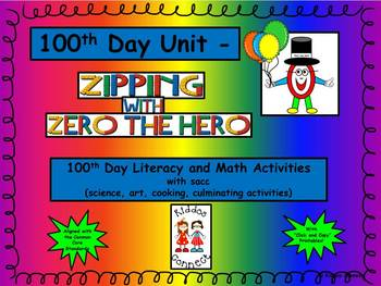 100th Day - Zipping with Zero the Hero