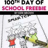 100th Day Book Freebie