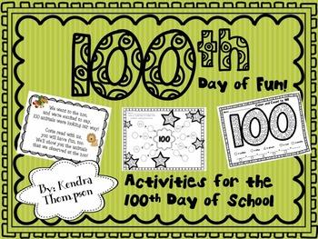 100th Day of Fun at School!