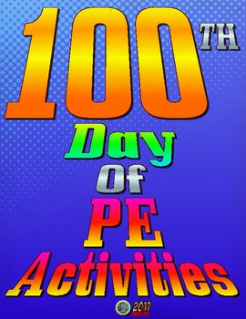 100th Day of PE Cards