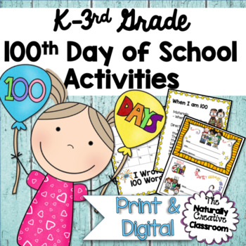 100th Day of School: 12 FUN 100th Day of School Center Activities!