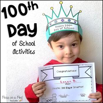 100th Day of School Activities kindergarten, preschool, fi