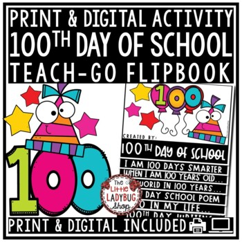 100th Day of School Activities & 100th Day of School Writi