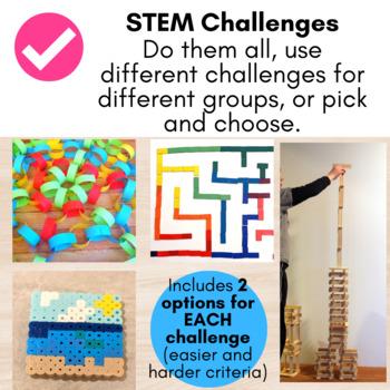 100th Day of School STEM Activities