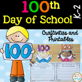 100th Day of School Activities and Crafts