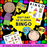 100th Day of School Bingo Cards