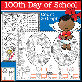 100th Day of School - Count and Graph