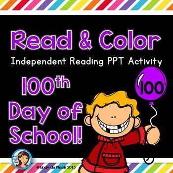100th Day of School PowerPoint for 1st and 2nd grade