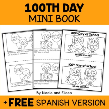 100th Day Spanish Teaching Resources | Teachers Pay Teachers