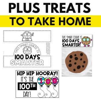 100th Day of School Activities & Printables