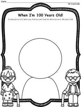 100th Day Of School Kindergarten Worksheets