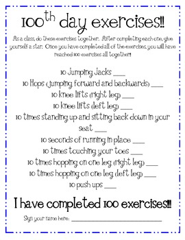 100th Day of School: A Packet of Activities!