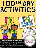 100th Day of School Activities!