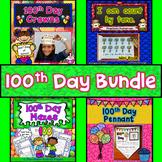 100th Day of School Activities Bundle : Literacy, Math, Cr