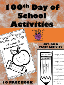 100th Day of School Activities!!  Have FUN Learning on thi