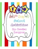 100th Day of School Activities {Math and Literacy}