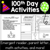 100th Day of School Activities | No Prep