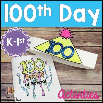 100th Day of School Activities {Only $1.00}