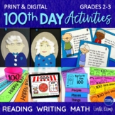 100th Day of School Activities & Printables for 2nd and 3rd Grade