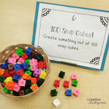 100th Day of School Activities and Printables for Kindergarten Centers