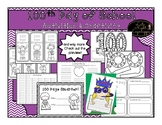 100th Day of School Activities and Writing Craftivity Bundle!