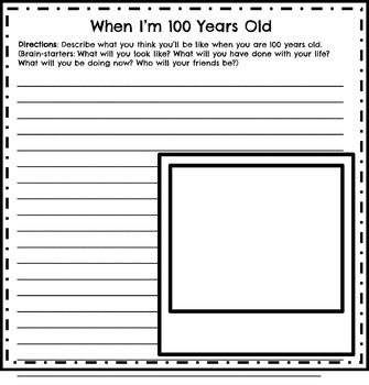 100th Day of School Activities for First and Second Grade