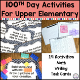 100th Day of School Activities for Upper Grades