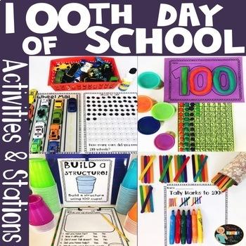 100th Day of School Activities Fun